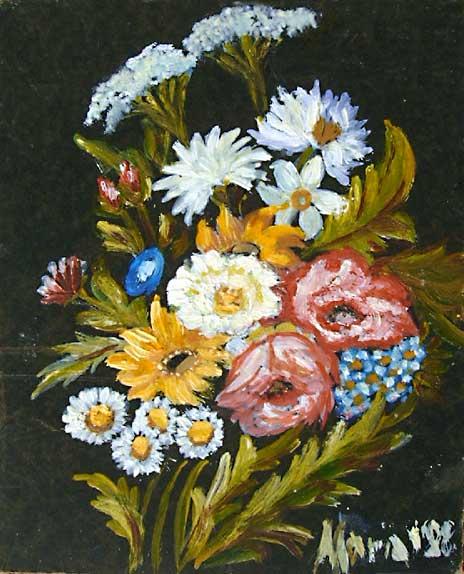 Pin sfondo pocahontas londra 1366 x 768 fumetti cartoni for Fiori dipinti a olio
