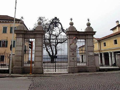 Cancello davanti al palazzo doglioni dal mas - Cancello porta ingresso ...